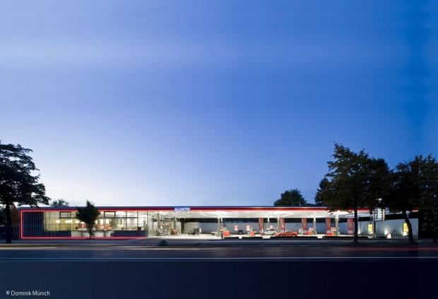 Tankstelle als Baukasten